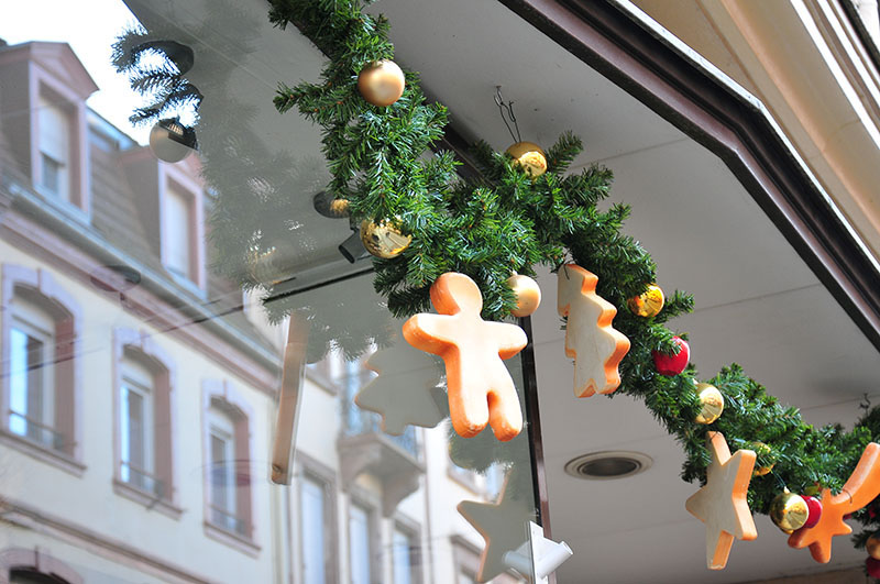 décorations de Noël à Saverne