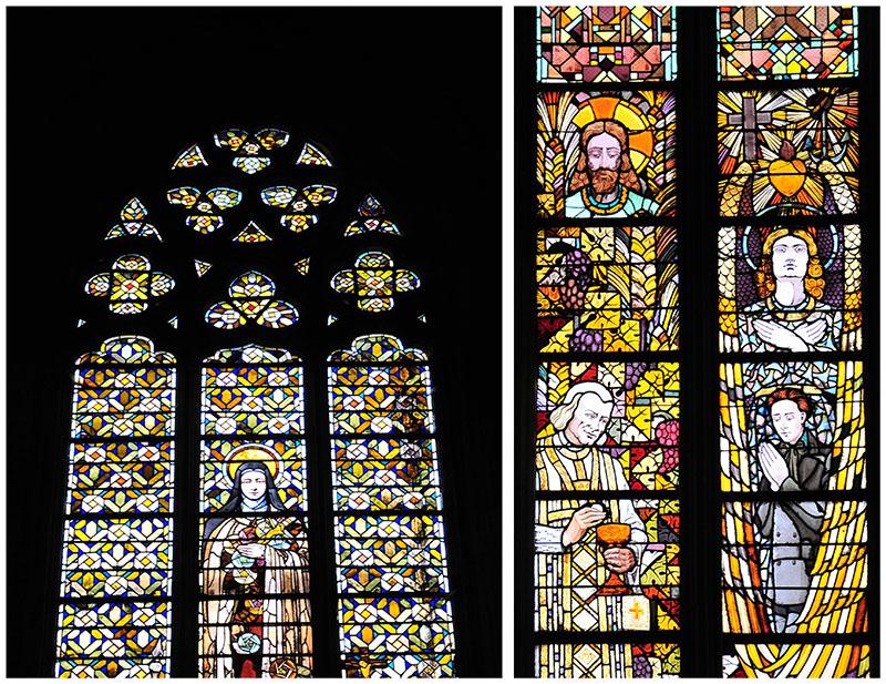 vitraux art déco basilique saint quentin