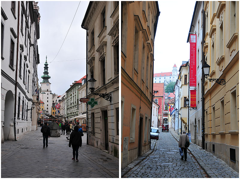 rues de Bratislava