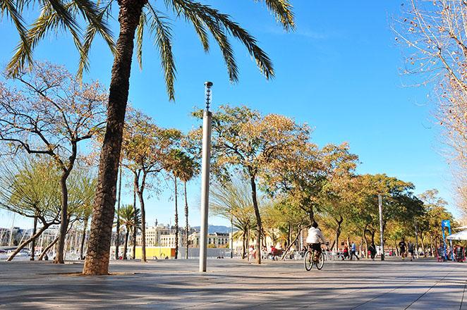 plaça pau vila barcelone