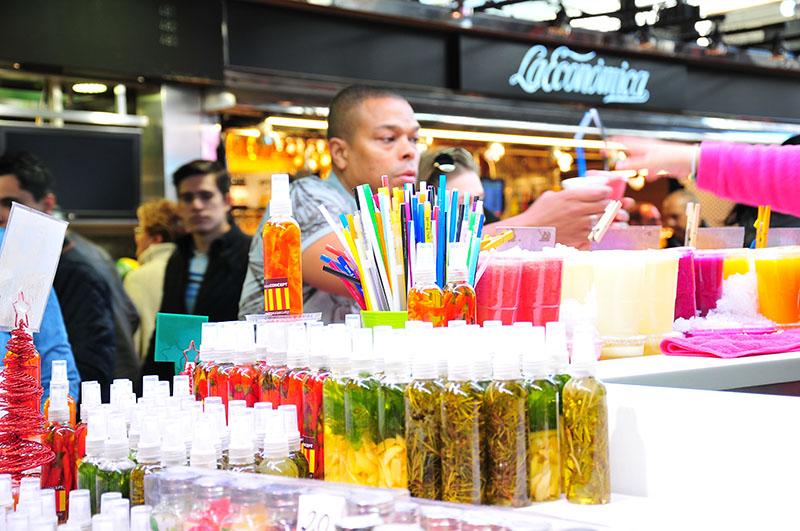 marché de la boqueria à barcelone