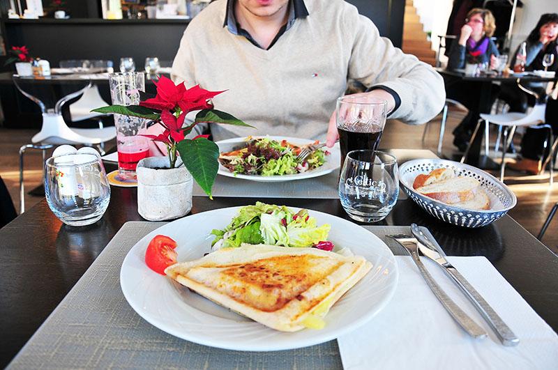 crista'lion, restaurant du musée lalique à wingen sur moder