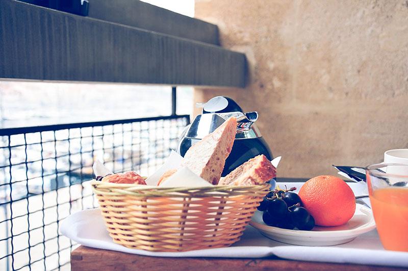 hôtel la résidence marseille, petit-déjeuner