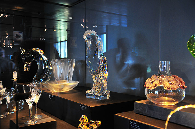 Visite du musée Lalique à Wingen-sur-Moder, dans le pays de la Petite-Pierre