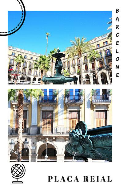 placa reial, barcelone