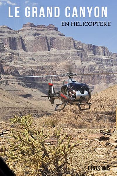 grand canyon , etats-unis, hélicoptère