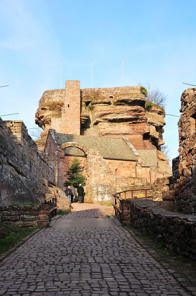 château du haut-barr, alsace