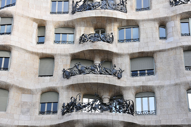 casa la pedrera barcelone