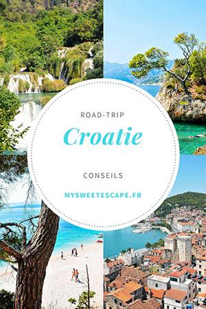 road-trip en croatie, conseils