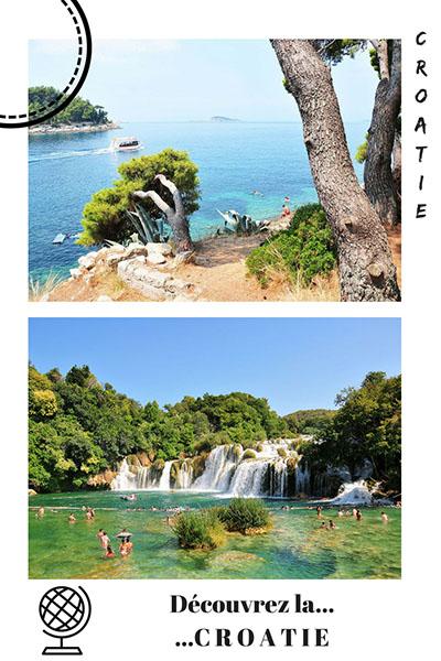 road-trip en croatie, pinterest