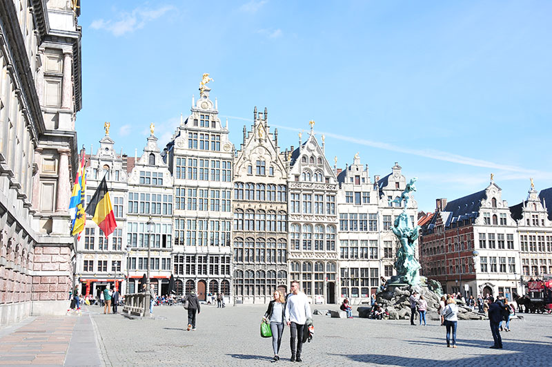 grand-place, anvers