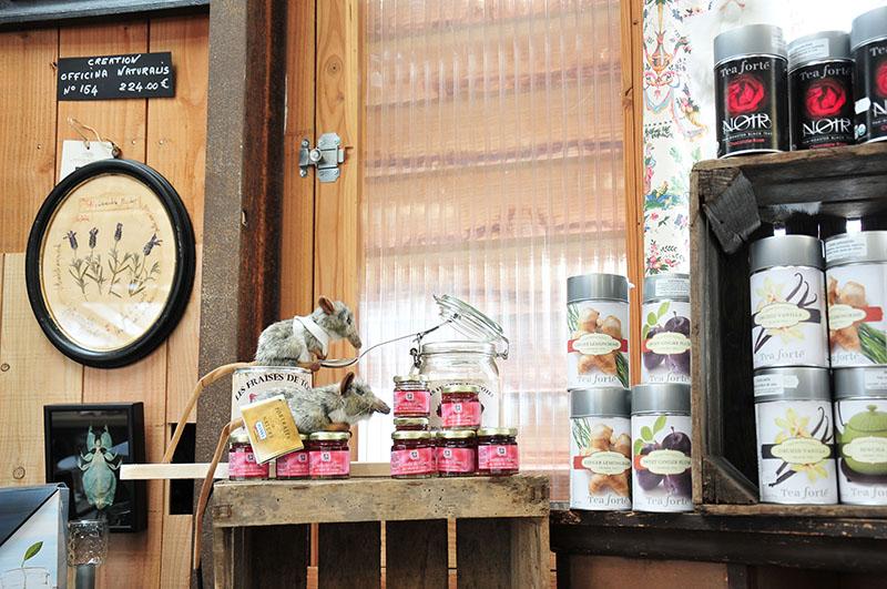 établissement la capucine, giverny, restaurant et salon de thé