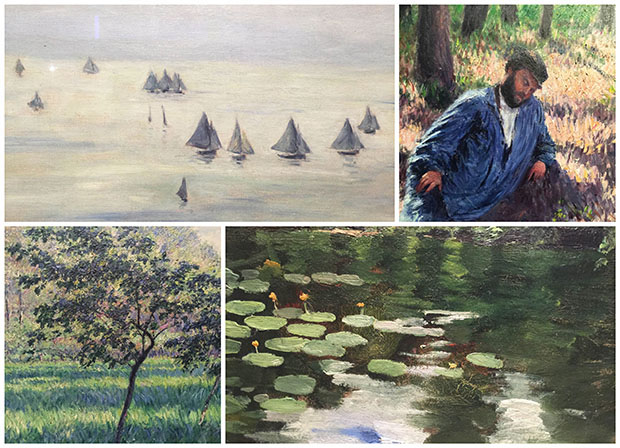 exposition caillebotte, giverny