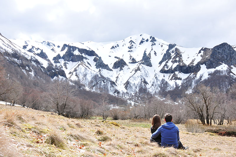 Randonnée dans la vallée de Chaudefour, sancy, auvergne