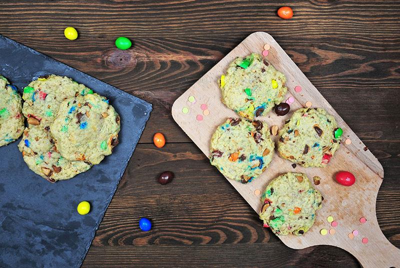 idées de recettes à base de m&m's: délicieux cookies