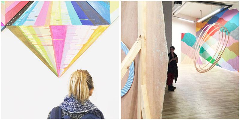 visite et découverte du musée du MIMA et de l'exposition City Lights à Bruxelles