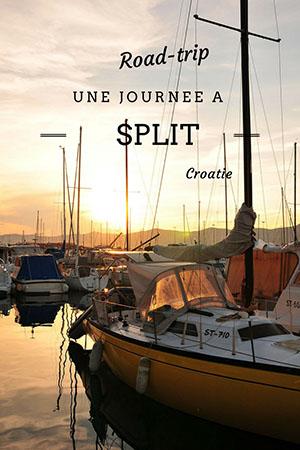 road trip en croatie: split