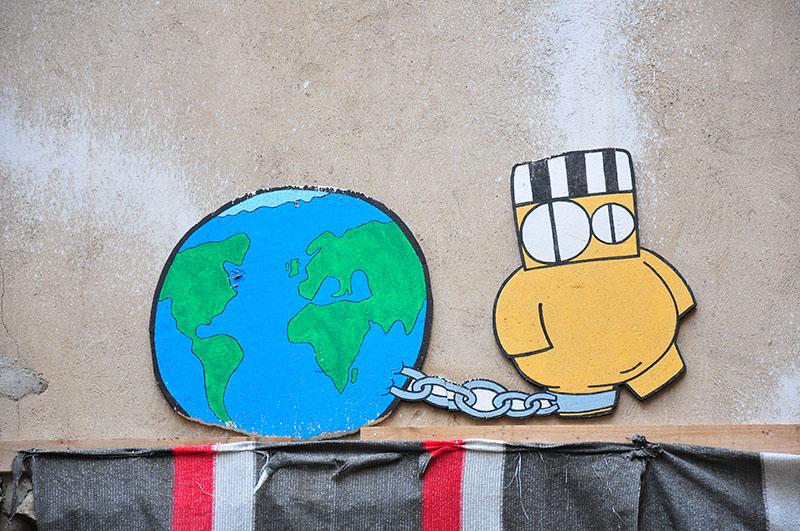 street-art, quartier el born, barcelone