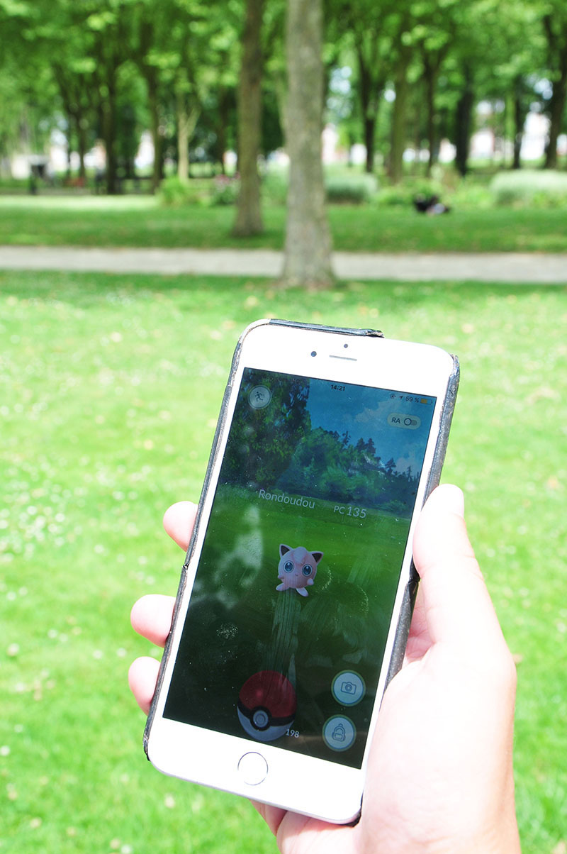 pokemon go à saint-quentin, pokestops des champs elysées