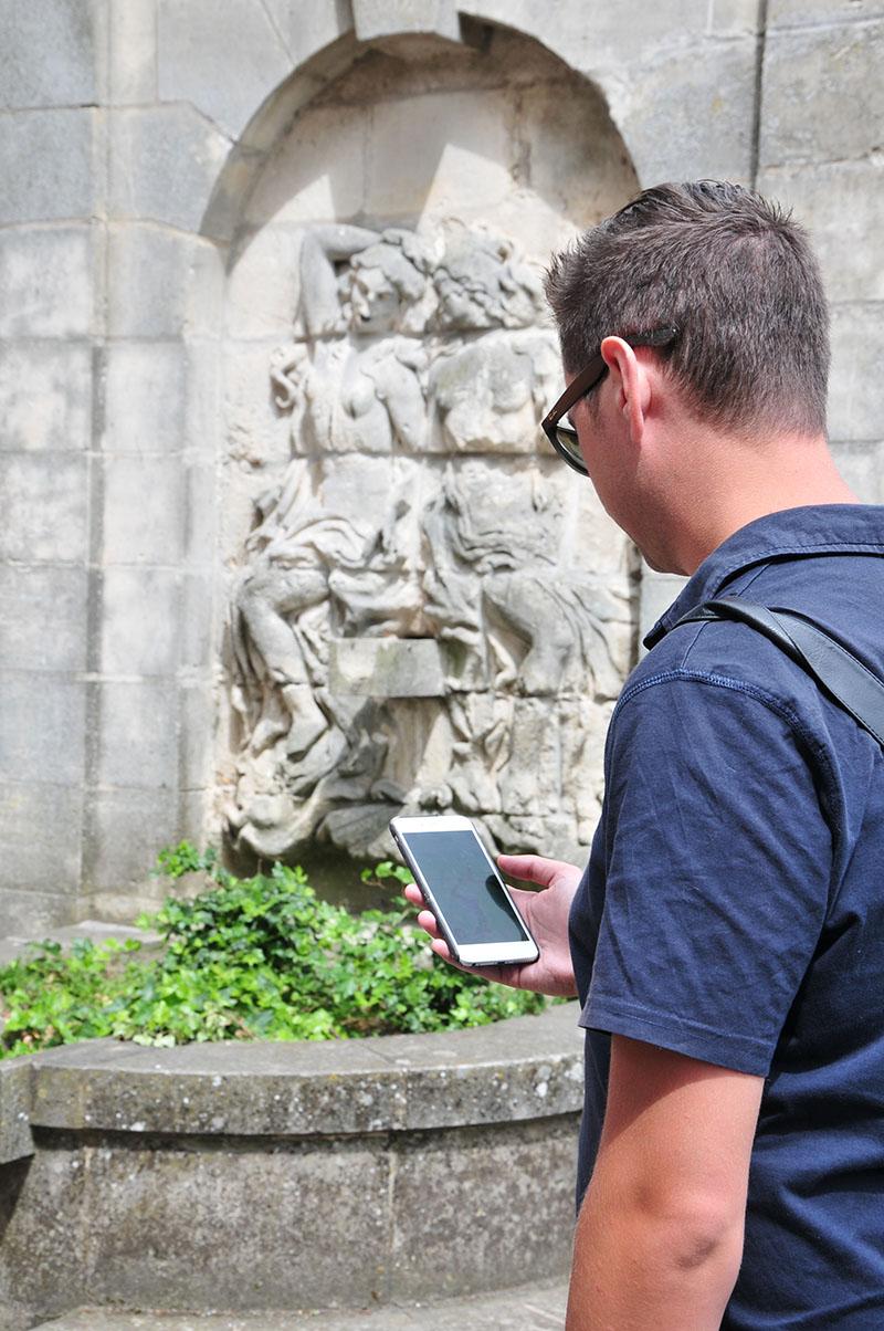 pokemon go à saint-quentin, pokestops autour de la basilique de saint-quentin