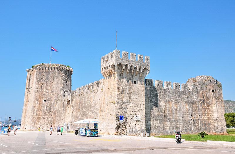 forteresse kamerlengo, trogir