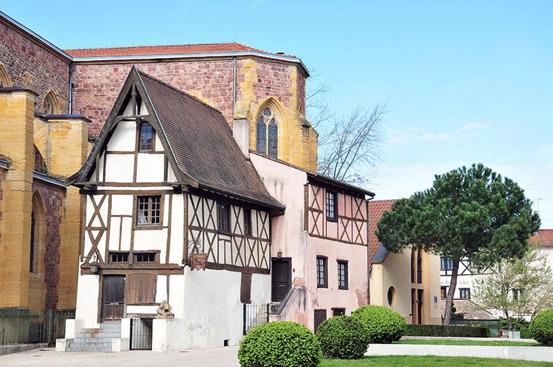 maisons médiévales, roanne