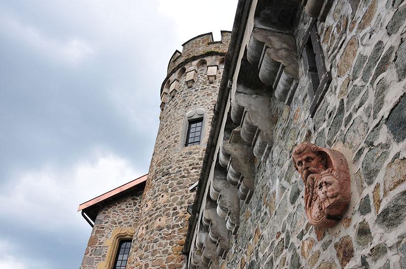 """visite du château de la Roche, le """"premier château de la Loire"""", dans le roannais"""