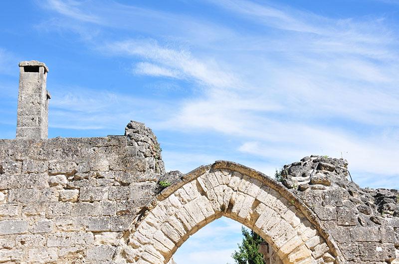 visite de coucy le château, château médiéval, dans l'Aisne