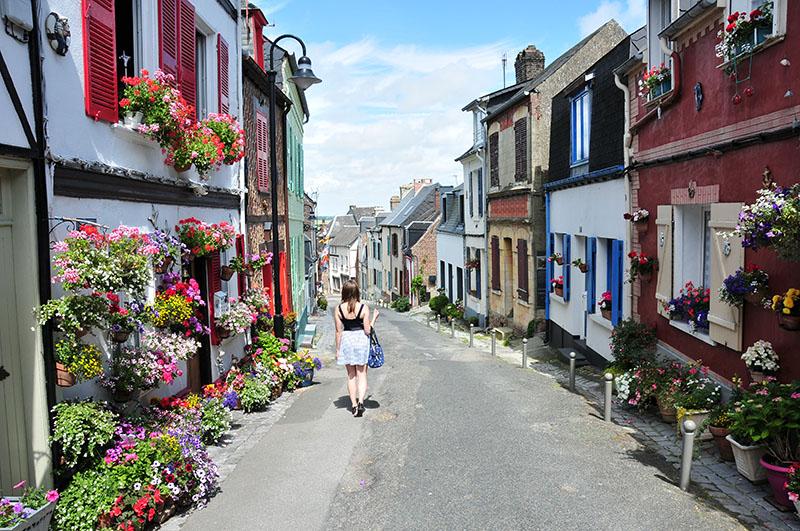 quartier du Courtgain à Saint-Valéry-sur-Somme