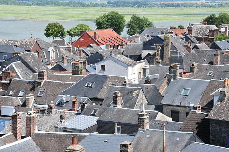vue sur la baie de Somme, Saint-Valéry-sur-Somme
