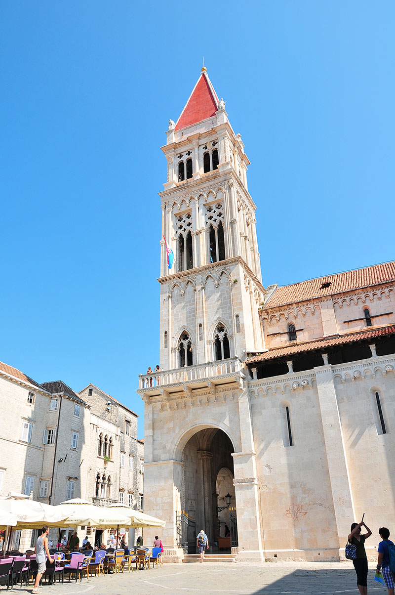 Place Jean-Paul II, trogir