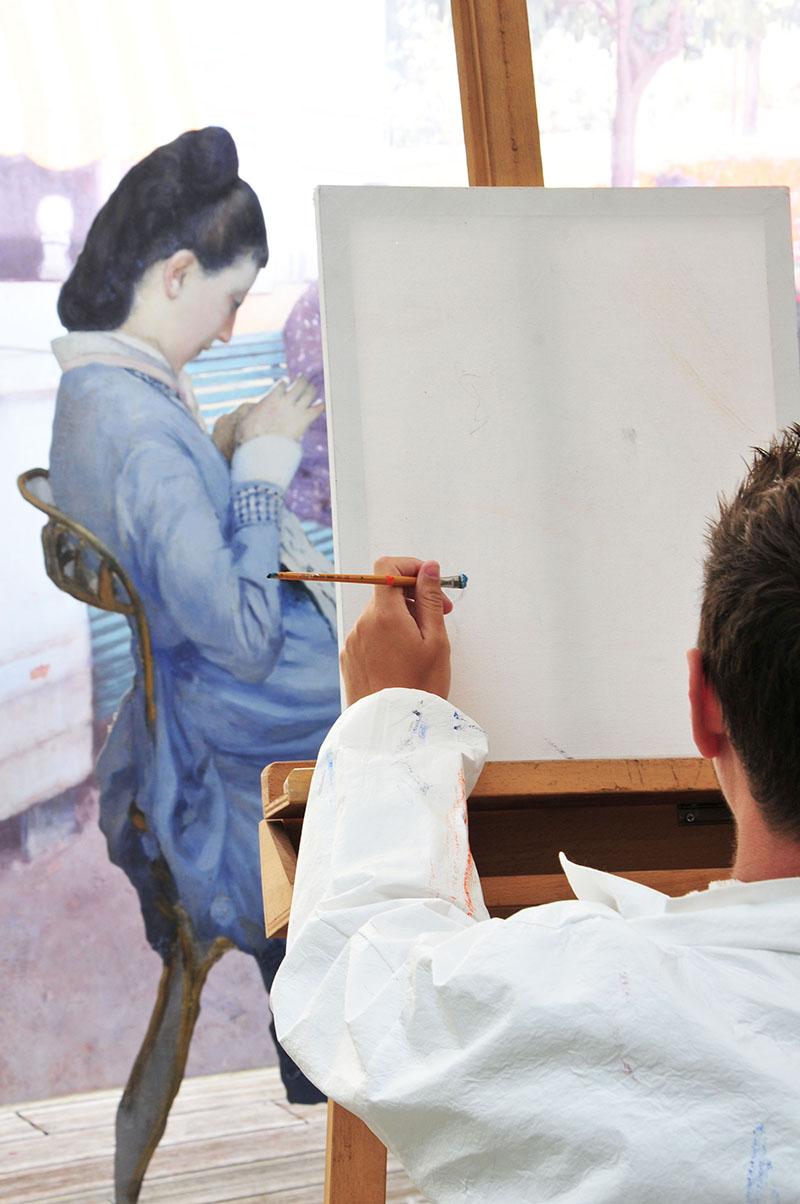 musée baron gérard, bayeux, normandie impressionniste, exposition Portraits à la campagne de Caillebotte