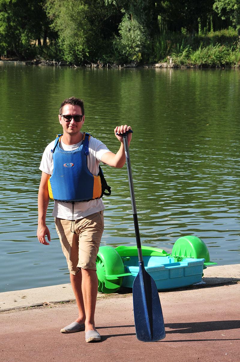 visite châteauroux, canoe kayak