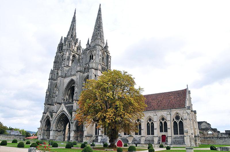 L'abbaye Saint-Jean des Vignes, soissons