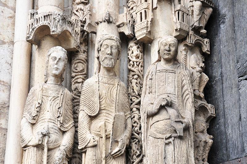cathédrale de chartres, photographies