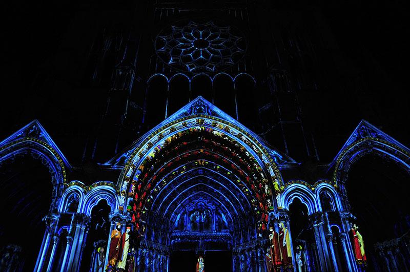 festival son et lumières, chartres en lumières, choses à faire à chartres