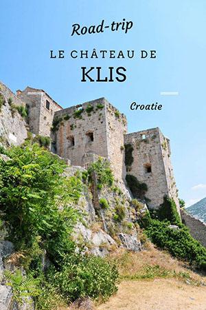 road-trip en croatie: château de klis