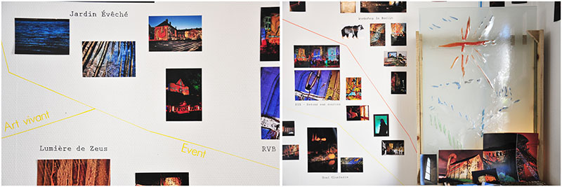 collectif artway, projection de verre, chartres