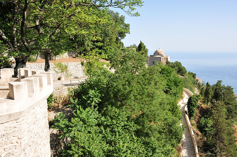 panoramas depuis les hauteurs d'erice