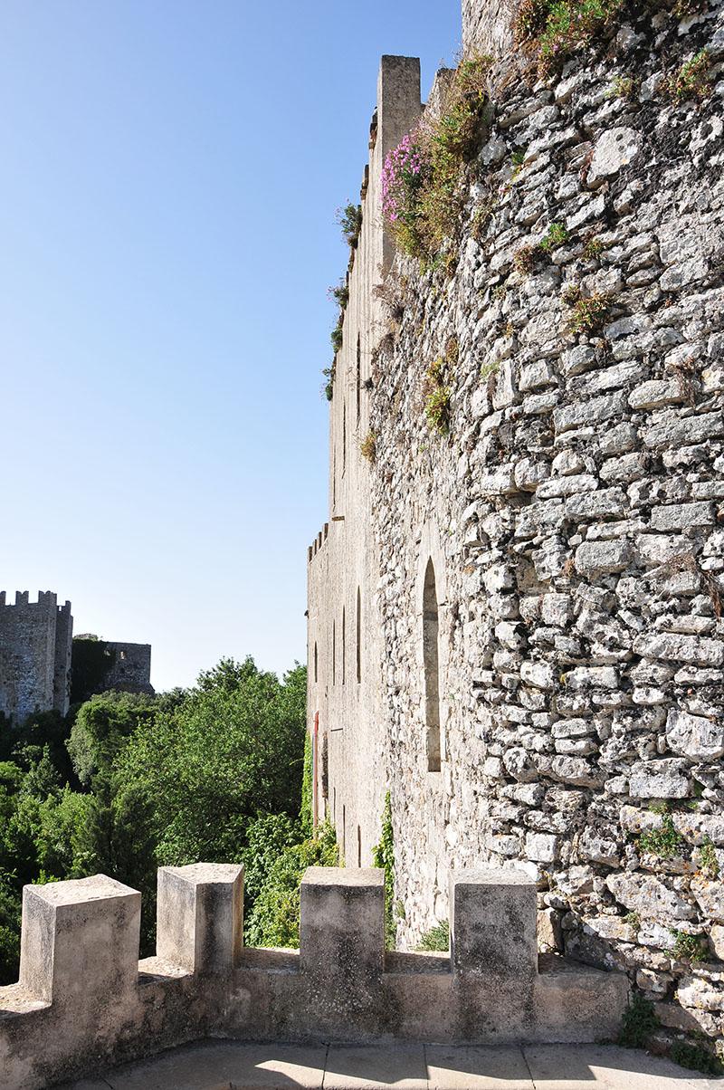 château d'erice, sicile