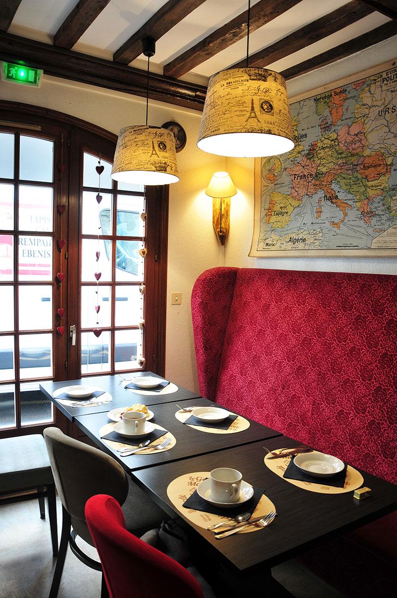petit-déjeuner, hôtel reine mathilde, bayeux