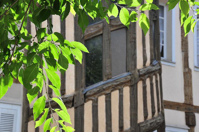 photographies des rues de chartres et vues sur la cathédrale