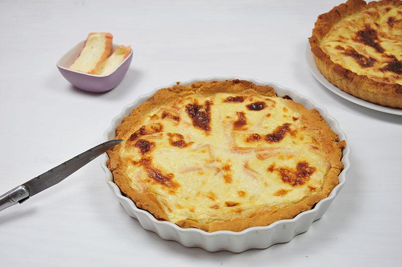 recette de tarte au maroilles