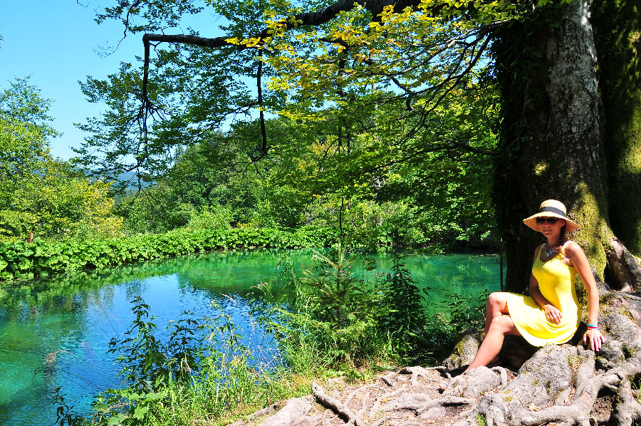 road trip en croatie, lacs de plitvice , parc national