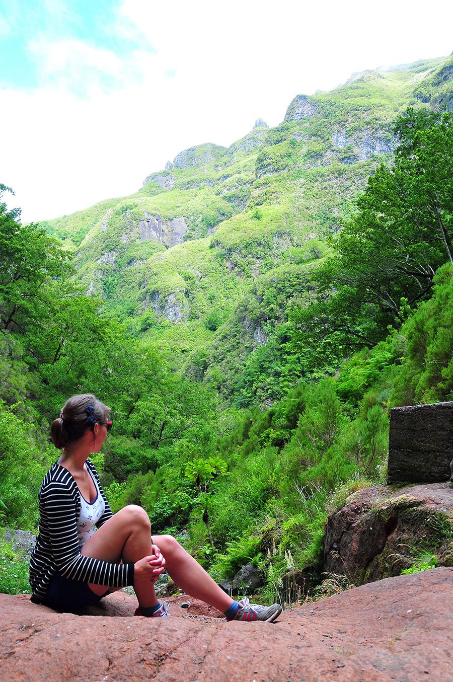 road-trip à madère, informations et conseils, caldeirao verde, randonnee