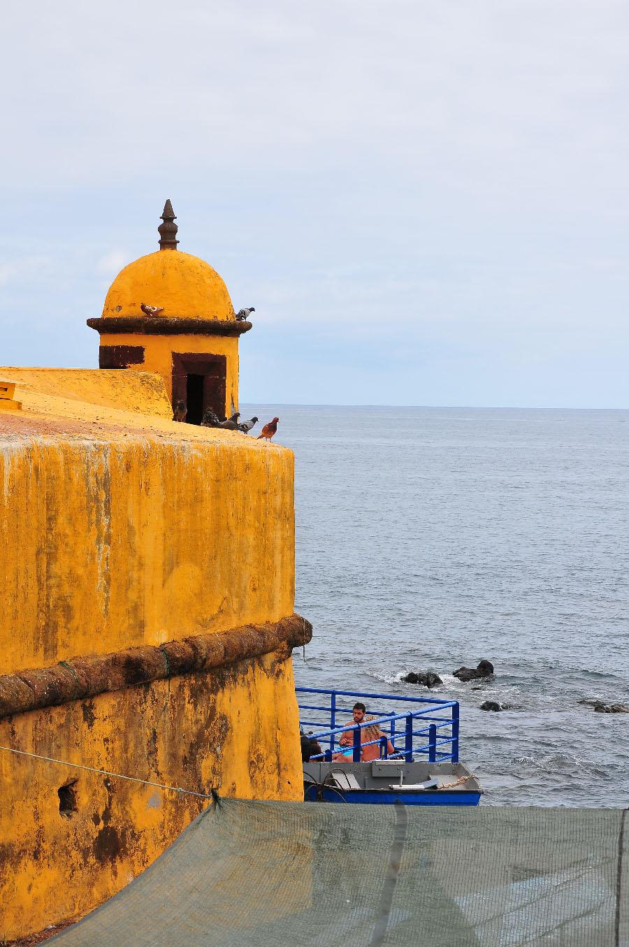 forteresse santiago ou Sao Tiago, Funchal
