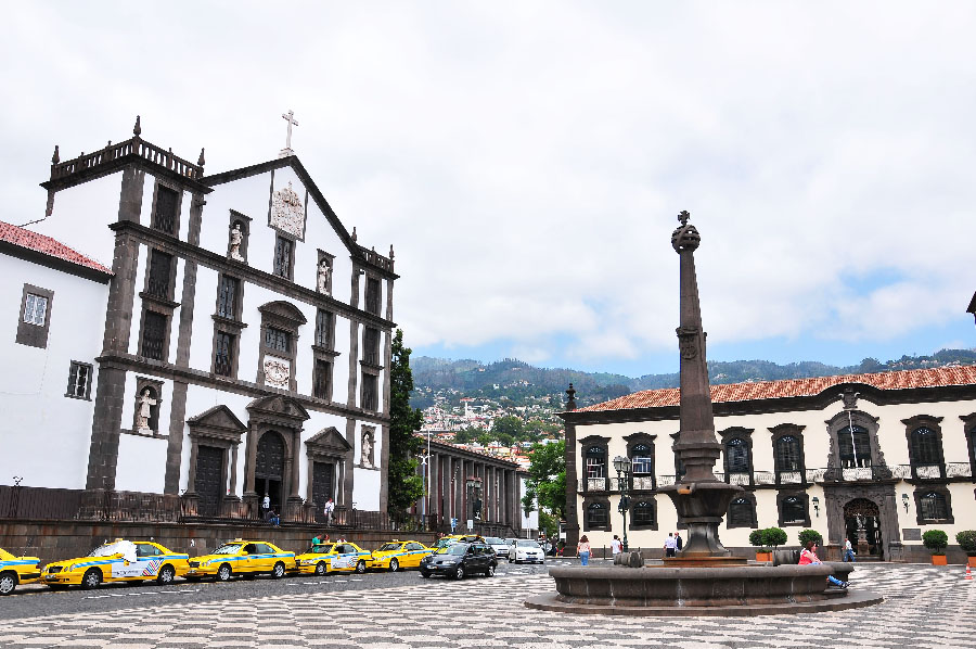 praça do municipio, madère