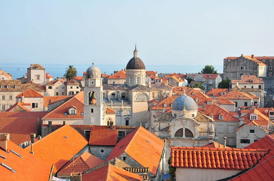 balade sur les remparts, Dubrovnik