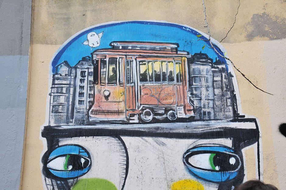 oeuvres street-art à porto