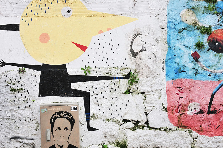rua de Miguel Bombarda, street-art à Porto